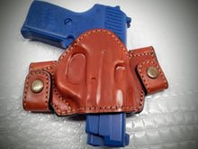 MyHolster Premium Quality Brown Snap On Yaqui Slide Holster for S&W M&P 45 4.5""