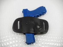 Gazelle Holsters Quick Slide Black Leather For Glock 17 ,22, 31