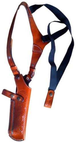Black Vertical Shoulder Holster for XD40 SUBCOMP, GLOCK 26, HK 9 COMP, XD40 Com