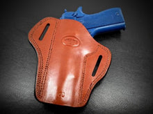 Premium Quality Brown Open Top Pancake Belt Holster for COLT 1911