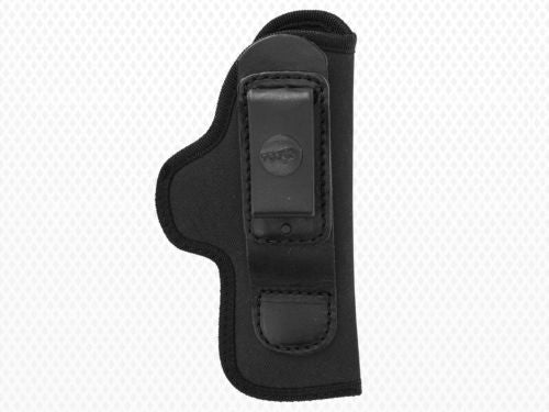 Akar Black Nylon Left Handed IWB/ITP tuck tuckable Holster Compact