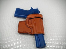 GAZELLE OWB Brown LEATHER  Yaqui Slide Holster for COLT 1911