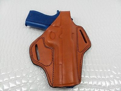 Gazelle Thumb-Break Belt Holster, Black, Right-Handed FOR COLT 1911