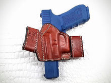 Load image into Gallery viewer, Snap On Leather Holster for GLOCK 17/22/31