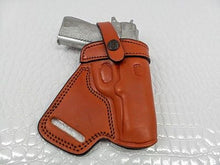 Load image into Gallery viewer, GAZELLE Small of the Back (SOB) leather holster for Bersa Thunder 45