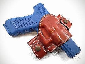 Snap On Leather Holster for GLOCK 17/22/31