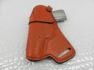 GAZELLE Small of the Back (SOB) leather holster for Bersa Thunder 45