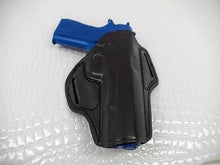 Gazelle OPEN TOP LEATHER BELT HOLSTER for COLT 1911