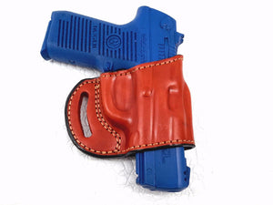 Springfield XD-S Mod.2 .40SW Pistol OWB Yaqui Slide Style Right Hand Leather Holster