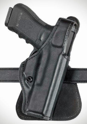 Safariland 518 Paddle Holster - Plain Black, Right Hand