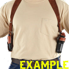 Shoulder Holster System with Double Mag Pouch for Smith & Wesson M&P 45 4.5""