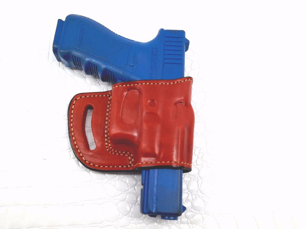 Glock 17/22/31 Yaqui Style Slide Leather Belt Holster