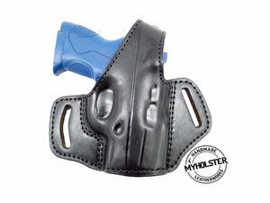 OWB Thumb Break Leather Belt Holster for Beretta PX4 Storm Subcompact 9mm