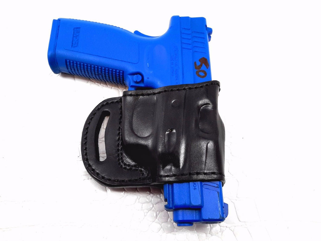 Yaqui slide belt holster for Springfield  Armory  XD-45, 4