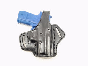 SIG Sauer P229 OWB Thumb Break Leather Belt Holster