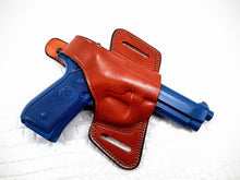 Beretta M9A1 OWB Thumb Break Compact Style Right Hand Leather Holster