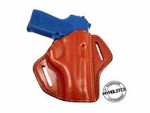 SIG Sauer P239 Right Hand Open Top Leather Belt Holster, MyHolster