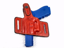 Load image into Gallery viewer, Brown Right Hand Thumb Break Belt Holster for Glock 21, MyHolster