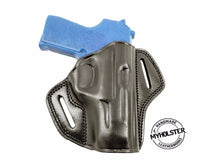 SIG Sauer P239 Right Hand Thumb Break Leather Belt Holster, MyHolster