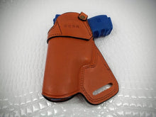 Gazelle OWB , SOB - Holster for  Sig Sauer P228, BROWN LEATHER, Right Hand