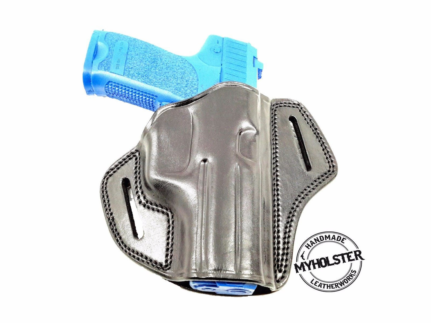 Open Top Leather Belt Holster for Sig Sauer P226/ P220, MyHolster