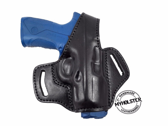 TAURUS G2 PT111 OWB Thumb Break Leather Right Hand Belt Holster