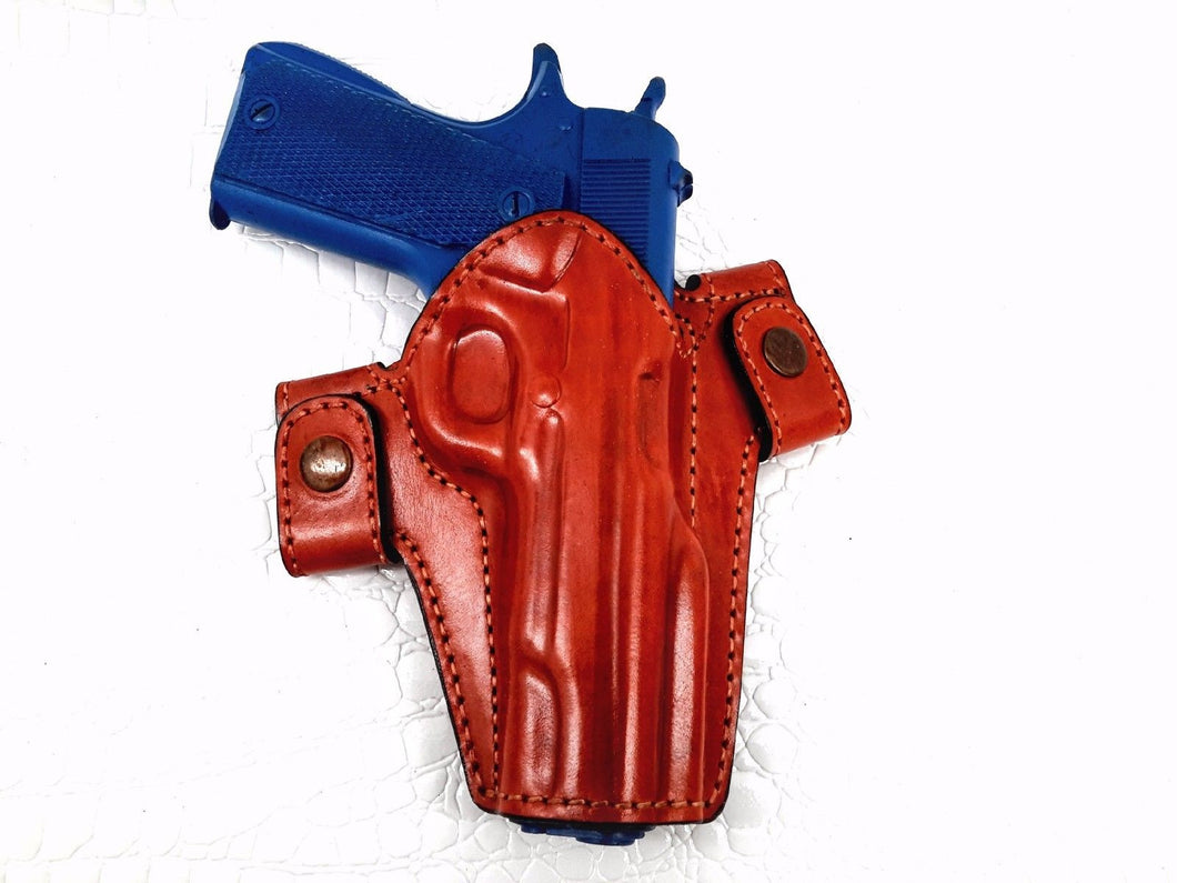 Glock 23 Snap-on Right Hand Leather Holster - Choose your Style