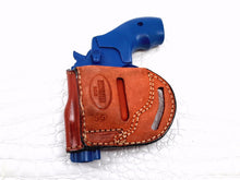 Yaqui slide belt holster for Smith & Wesson J-Frame Revolver, MyHolster