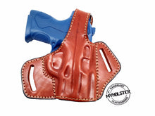 OWB Thumb Break Leather Belt Holster for Smith & Wesson M&P .40 COMPACT