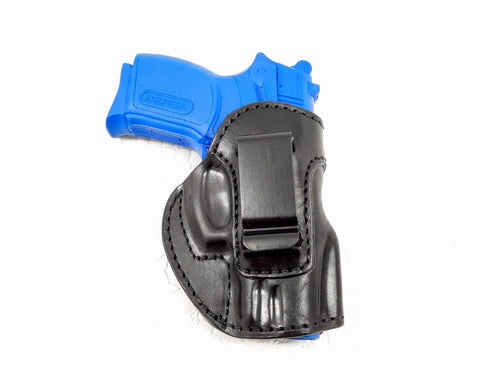 Ruger SR9c Leather IWB Inside the Waistband holster - Options Available
