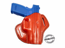 Load image into Gallery viewer, Open Top Belt Holster fits 1911 5-Inch Colt, Kimber, Para, Springfield