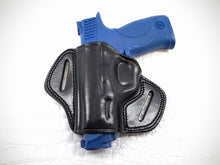 GAZELLA - LEFT Open Top Pancake Belt Holster for S&W M&P 40 COMPACT 3.5""