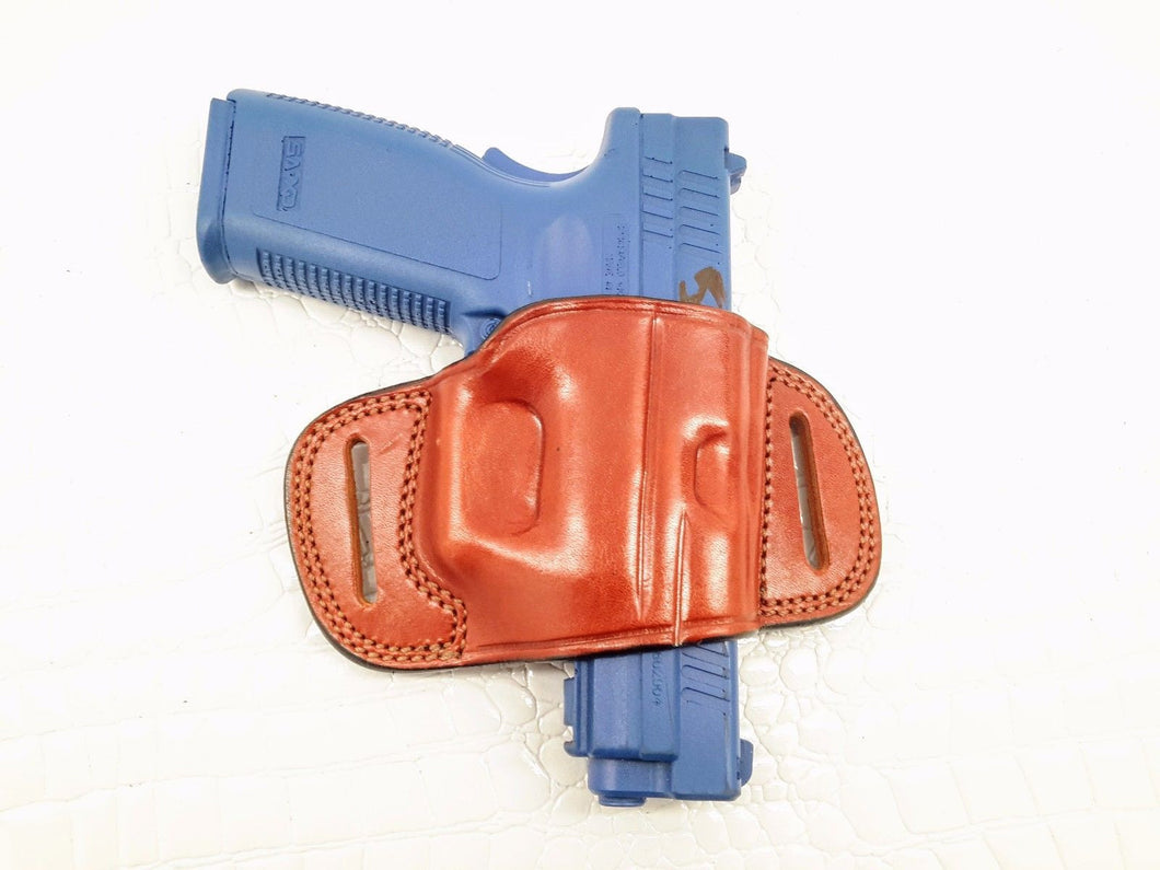 Glock 17/22/31 OWB Quick Draw Leather Belt Holster