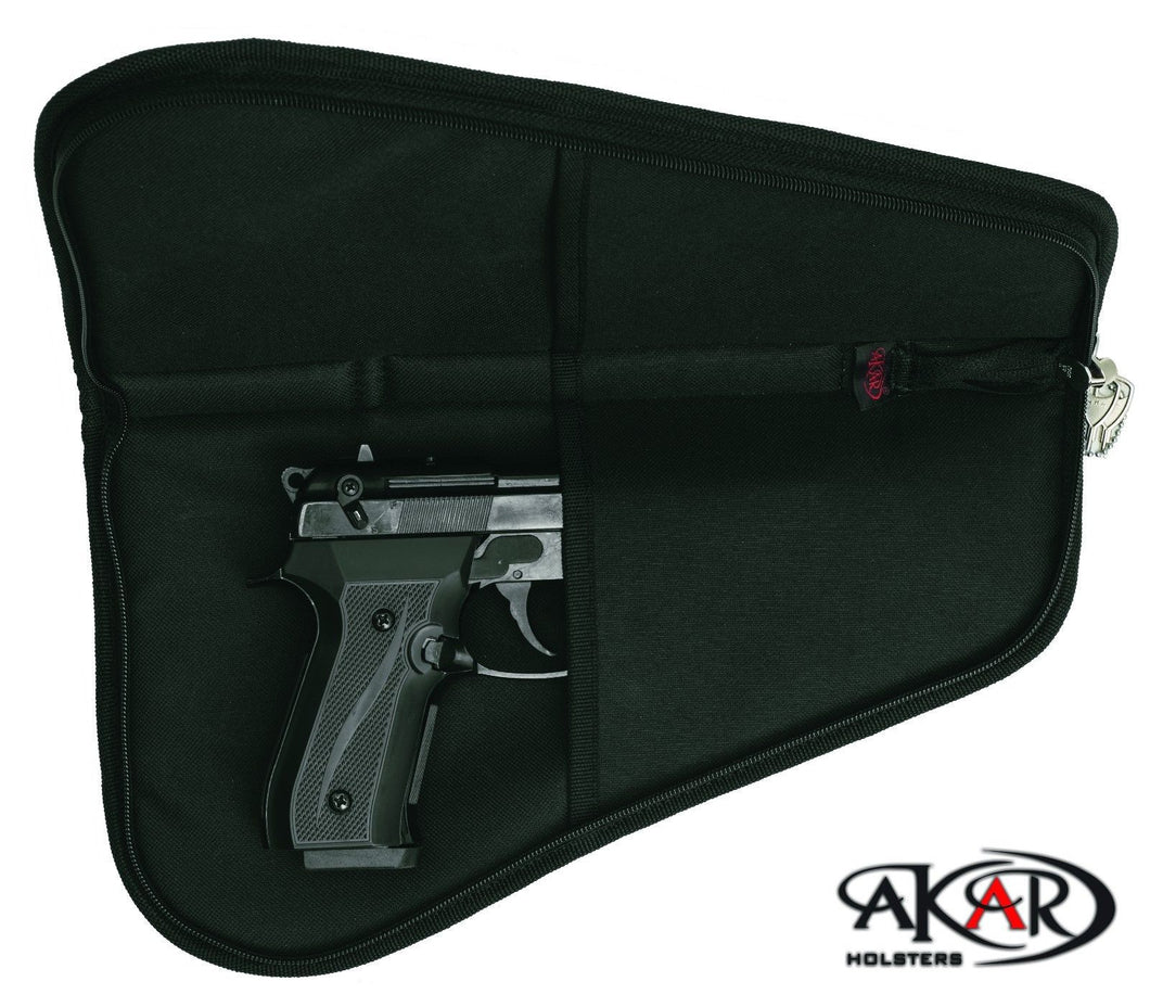 Akar Pistol Rug Case, Medium (Lock included)