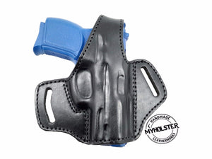 "EAA SAR B6C 3.8"" OWB Thumb Break Leather Belt Holster- Choose your Hand & Color"