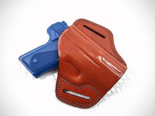 GAZELLE - OWB Leather 2 Slot Molded Pancake Belt Holster For KIMBER SOLO