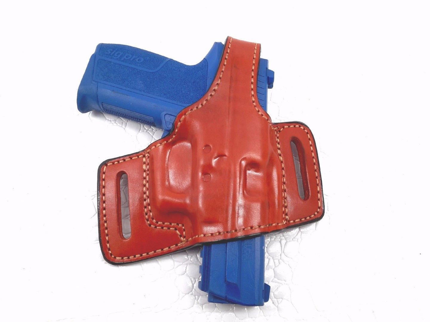 Thumb Break Belt Brown Holster for Sig Sauer SP2022, MyHolster
