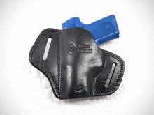 Load image into Gallery viewer, GAZELLE - OWB Leather 2 Slot Molded Pancake Belt Holster For KIMBER SOLO