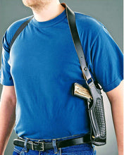 Vertical Shoulder Holster for various semi-autos and double action revolvers