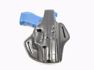 FN 509 OWB Thumb Break Leather Belt Holster - Choose your Color & Hand