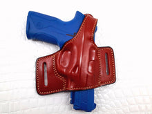Smith & Wesson  SHIELD 9mm Right Hand Thumb Break Belt Slide Leather Holster