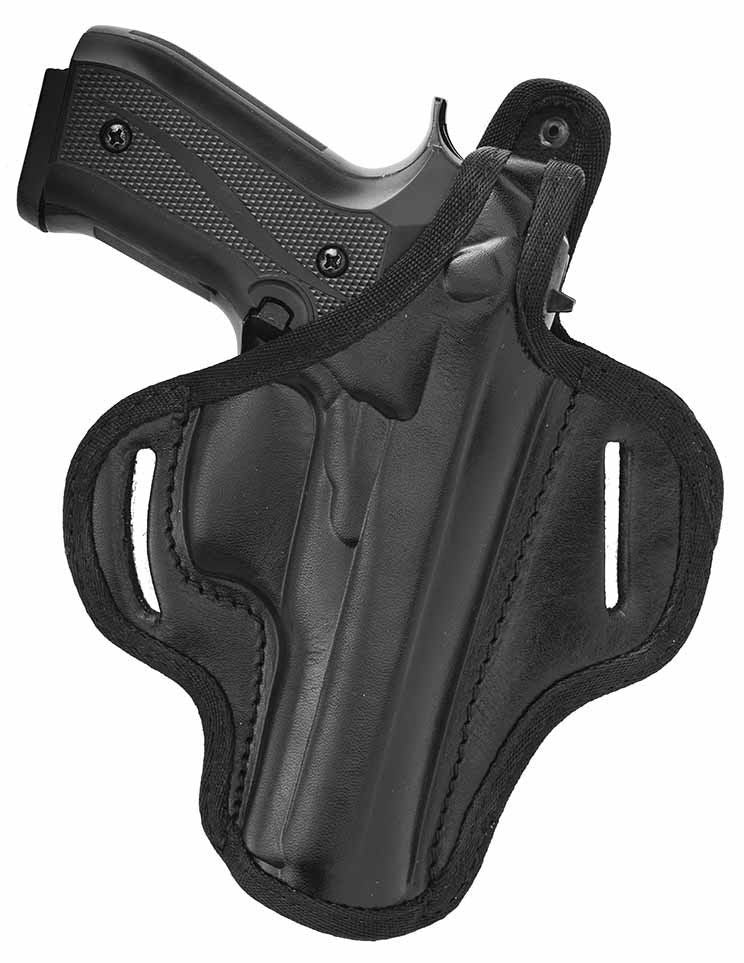 Beretta 92FS Thumb Break Leather Right Hand OWB Belt Holster