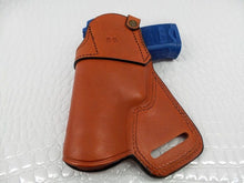 GAZELLE - Small of the back Holster for Heckler & Koch USP 9mm, Leather