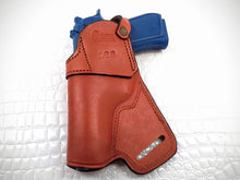 GAZELLA - SMALL OF THE BACK (SOB) HOLSTER, leather