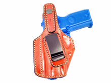 CZ 75 P-07 Duty  MOB Middle Of the Back IWB Right Hand Leather Holster