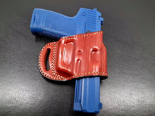 Yaqui slide belt  holster for KIMBER CUSTOM II (TWO-TONE) .45 ACP