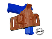 "SAR B6C 3.8"" OWB Thumb Break Compact Style Right Hand Leather Holster"