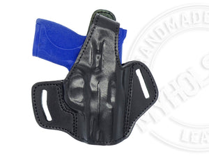 Walther PK380 OWB Thumb Break Leather Belt Holster