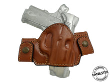 Springfield EMP 1911 9mm Snap-on Right Hand Leather Holster