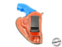 Smith & Wesson J-Frame Revolver IWB Inside the Waistband Right Hand Leather Holster